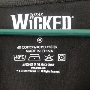 wicked Tops - Halloween🎃! Wicked T shirt size XL NWOT